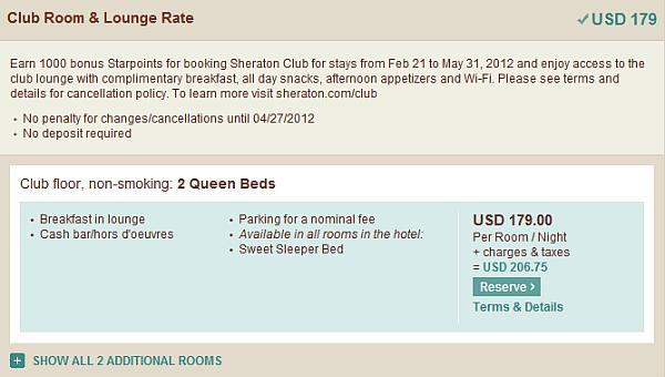 sheraton-club-room-lounge-rate