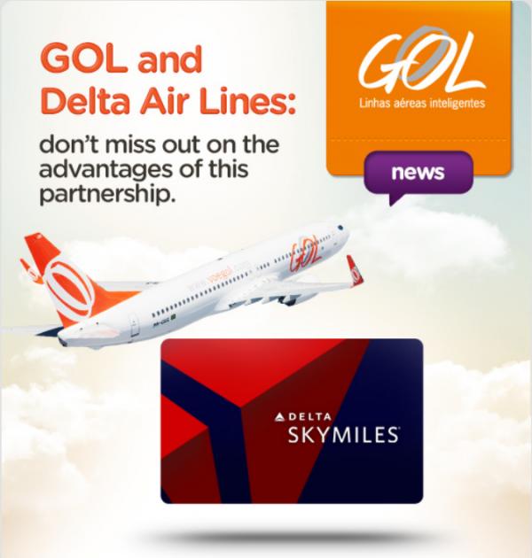 GOL Delta Email