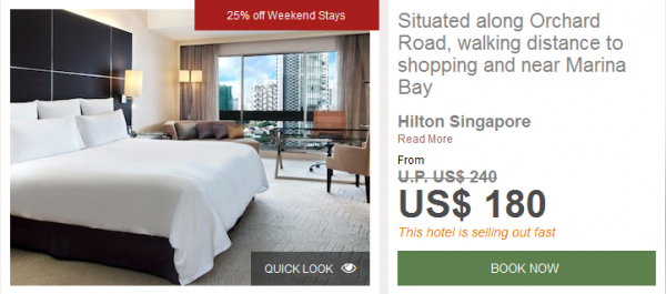 Hilton Conrad Singapore 25 Percent Off Weekend Stays Hilton