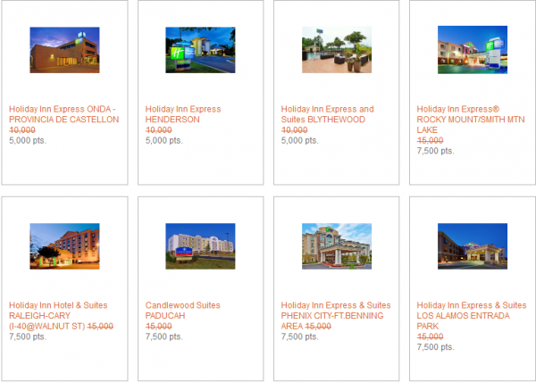 IHG Rewards Club Last Minute Reward Nights May 2014 1