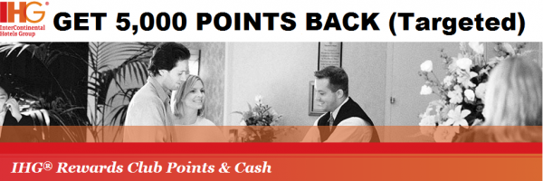 IHG Rewards Club Points + Cash Offer
