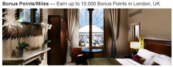 Marriott Rewards London 10K Per Night