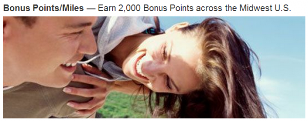 Marriott Rewards Midwest Promotion 2,000 Bonus Points Per Stay March 12 May 30 2014