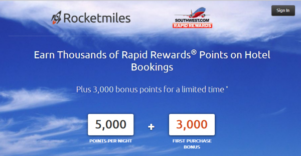 Retmiles Southwest Airlines Rapid Rewards 3 000 Bonus Points Promo