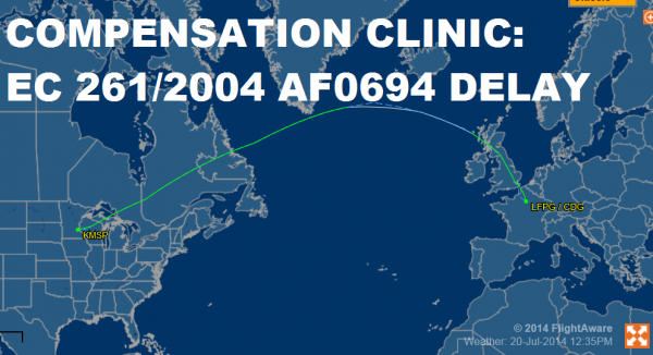 Compensation Clinic Air France 694