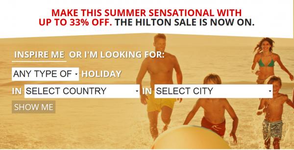 Hilton EMEA Summer Weekends Sale