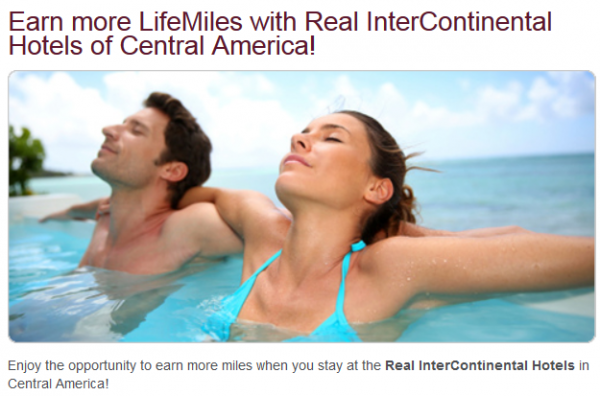 IHG Rewards Club Real InterContinental Promotion Central America