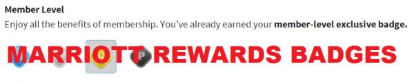 Marriott Rewards Badge