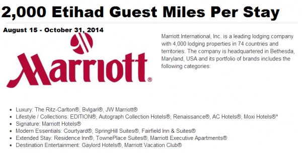 Marriott Rewards Etihad Guest