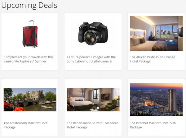 Marriott Rewards FlashPerks Week 4 Hotel Deals Upcoming Deals