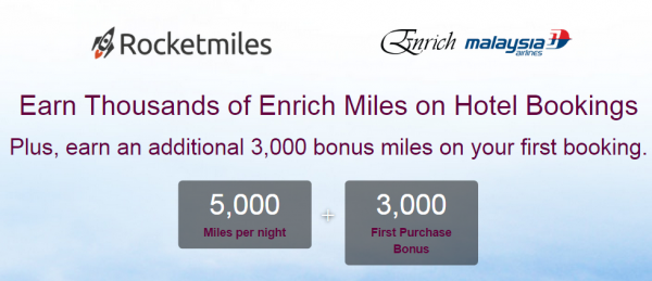 Rocketmiles Malaysia Airlines Enrich