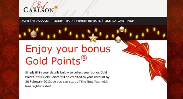 club-carlson-gold-bonus-points-for-christmas