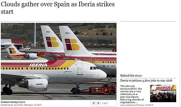 iberia-strike