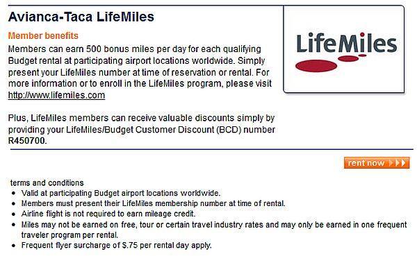 avianca-taca-lifemiles-airport-rentals