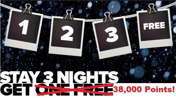 club-carlson-3-nights-38000-bonus-points