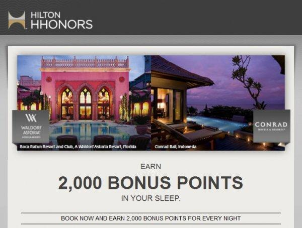hilton-hhonors-luxury-2000-bonus-points-conrad-waldorf-astoria-promotion