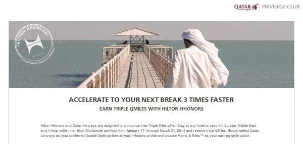 hilton-hhonors-qatar-triple-miles