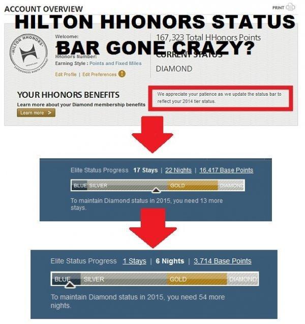 hilton-hhonors-status-bar