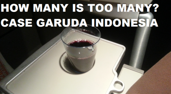 How Many Is Too Many Case Garuda Indonesia
