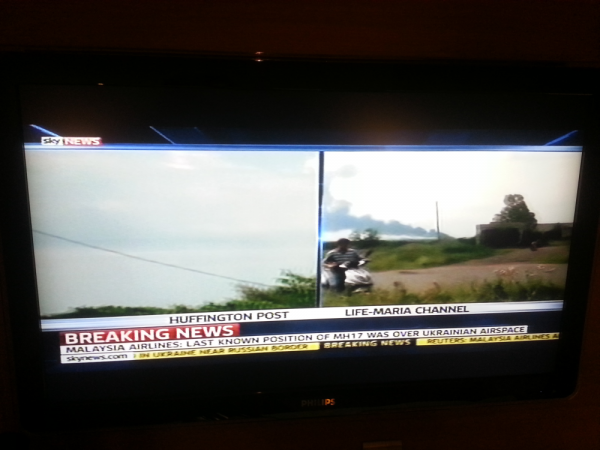 Malaysia Airlines MH17 Sky News
