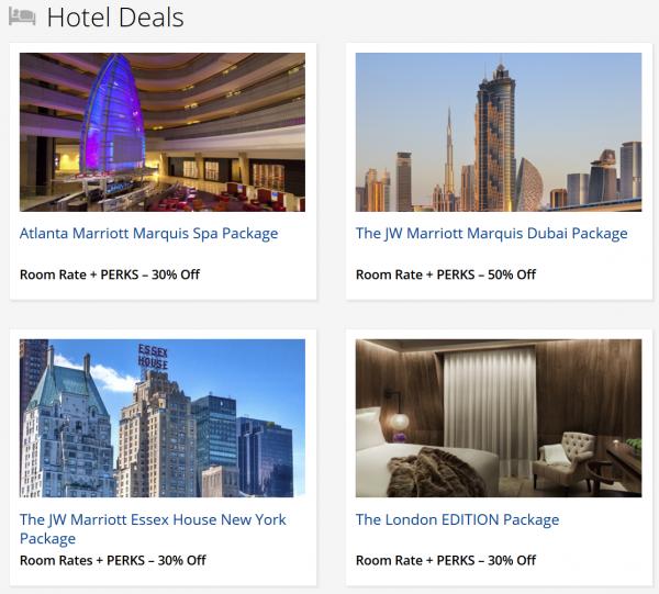 Marriott FlashPerks Week 1 July 17 2014 Hotel Deals 1