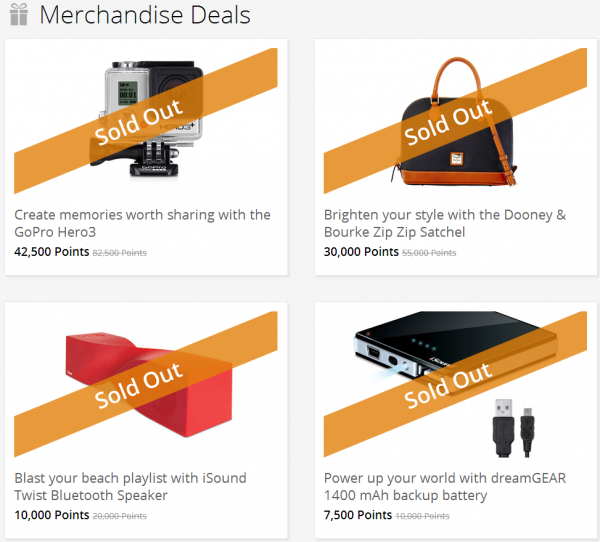 Marriott FlashPerks Week 2 July 24 2014 Merchandise Deals
