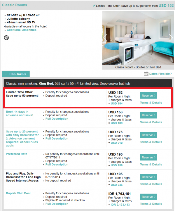 Starwood Asia Pacific Red Hot Deal All Of Asia Is Yours Sales July 2014 Le Meridien Jimbaran