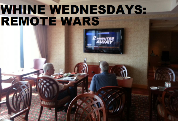 Whine Wednesdays Club Lounge Remote Wars
