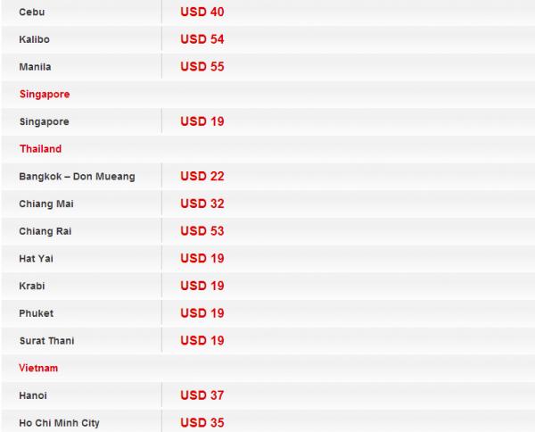 AirAsia Big Sale June 2014 KUL International 4