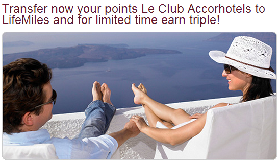 Avianca LifeMiles Le Club Accorhotels Offer