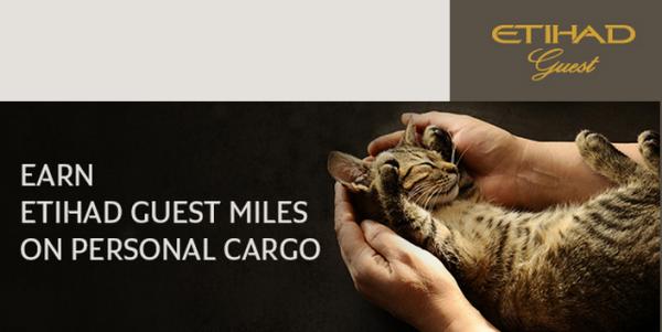 Etihad Guest Award & Tier Miles Cargo Shipments