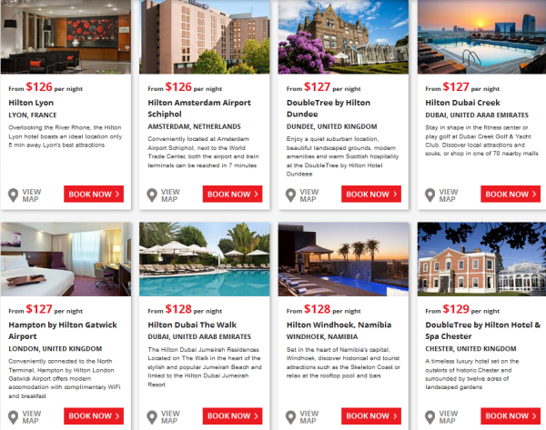 Hilton Europe Middle East & Africa Summer 2014 Sale 2
