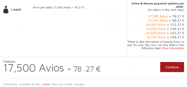 Iberia Plus Central America 30 Percent Award Discount June 2014 MAD-PTY