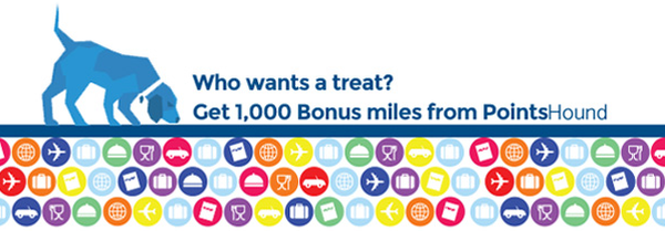 Pointshound 1,000 Bonus Miles Points.com