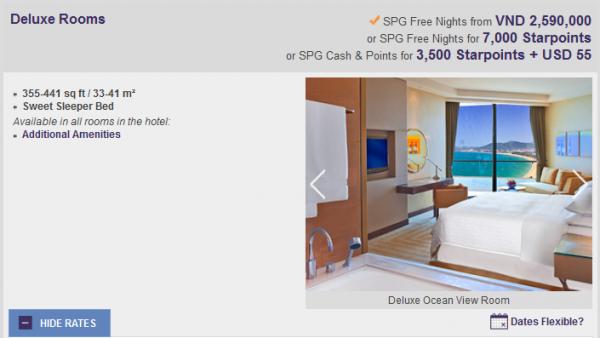 SPG Red Hot Deals Sheraton Nha Trang