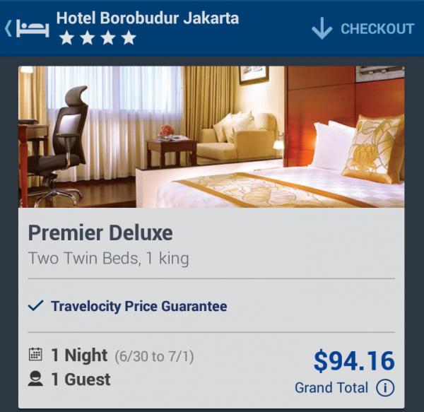 Travelocity $40 Off $100 Hotel Borobudur Main