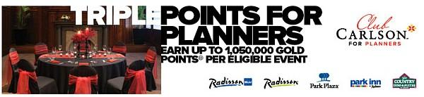 club-carlson-triple-points-for-planners