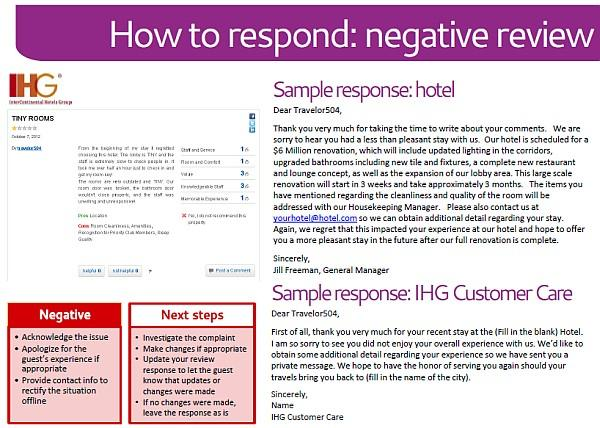 "the impact of online negative reviews and comments on hotels and restaurants The tripadvisor effect: are online reviews making in hotels for over bad"" a hotel might be based on the negative reviews which may have a greater."