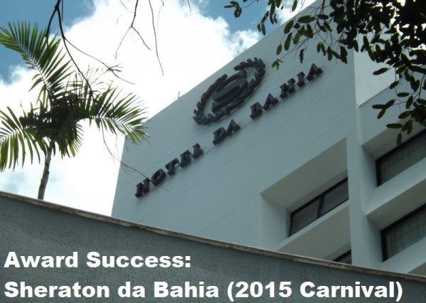Award Success Sheraton Bahia