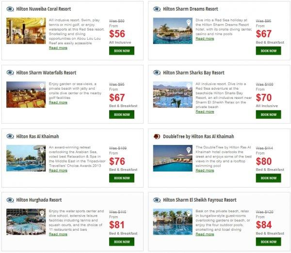 Hilton Europe Middle East Africa Resort Sale 1