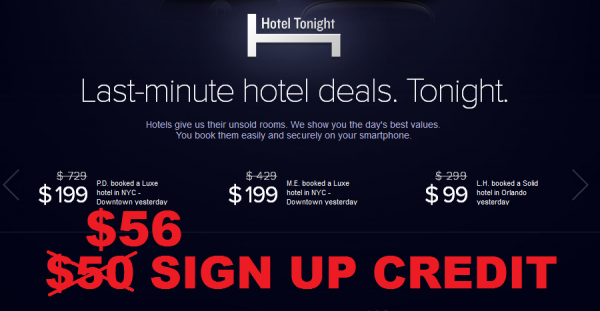 Hotel Tonight Update