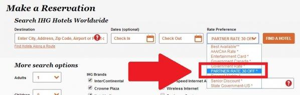 IHG Europe Weekend Breaks Spring 2014 Partner Rate 30 Off