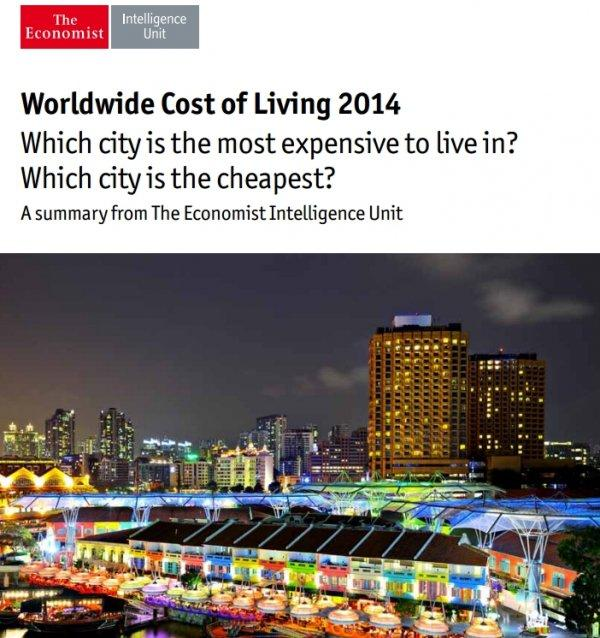 The Economist Cost Of Living Index Cover