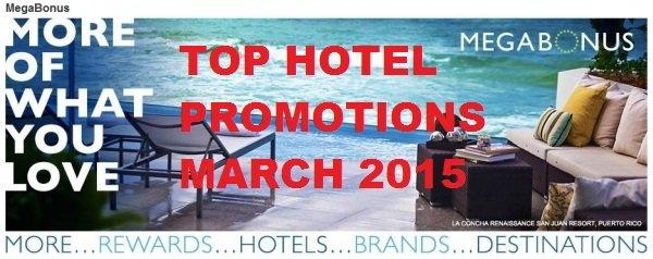 Top Five Hotel Promotions February 2014