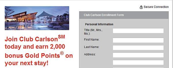 club-carlson-sign-up-bonus