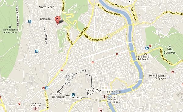 rome-cavalieri-location