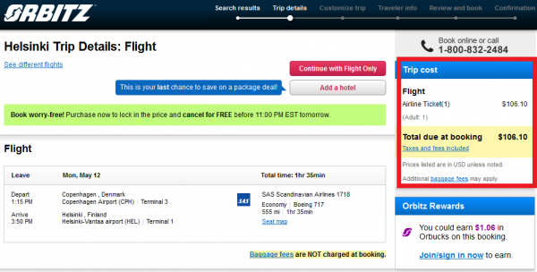Expedia Best Price Guarantee Orbitz