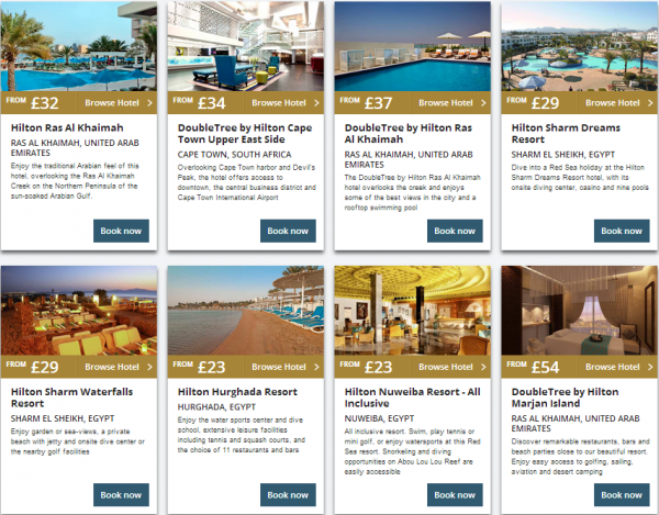 Hilton Middle East Summer Sale 2014 Properties 1