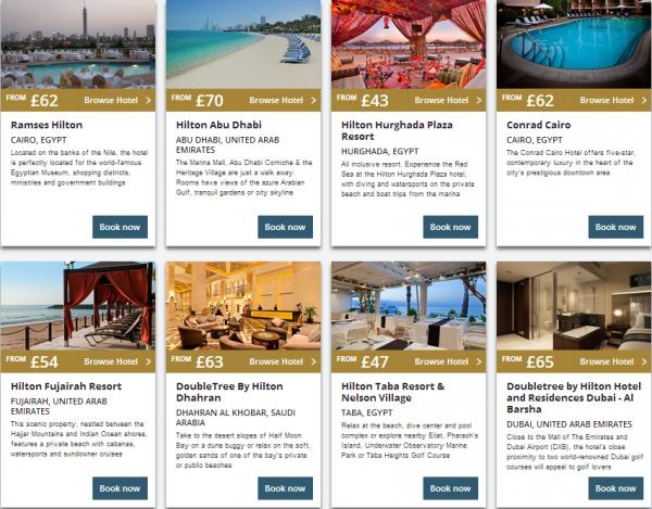 Hilton Middle East Summer Sale 2014 Properties 3
