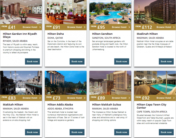 Hilton Middle East Summer Sale 2014 Properties 6